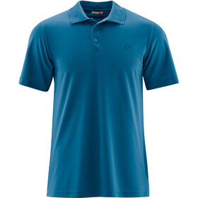 Maier Sports Ulrich Polo Hombre, blue sapphire